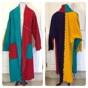 Rare! Cindy Owings Designs wool coat